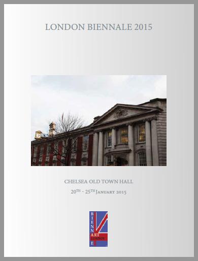 """2015 : """"LONDON BIENNALE 2015″, exposition collective, Londres, Royaume-Uni"""