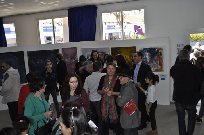 """2014 : """"ART ABSTRAIT"""" Musécole, Casablanca, Maroc, exposition collective"""